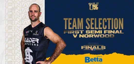 BETTA Teams Selection: First Semi Final v Norwood
