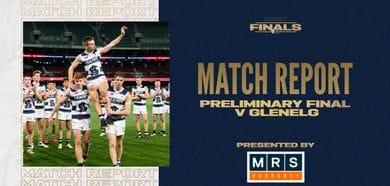MRS Property Match Report Preliminary Final: vs Glenelg