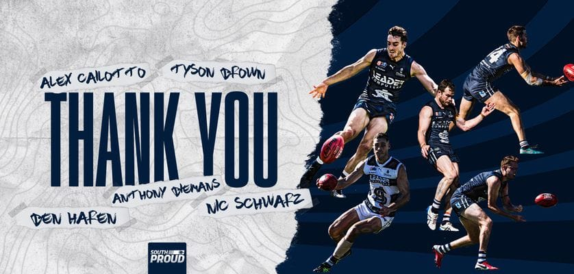 Thank You: Tyson Brown, Alex Cailotto, Nic Schwarz, Ben Haren & Anthony Biemans
