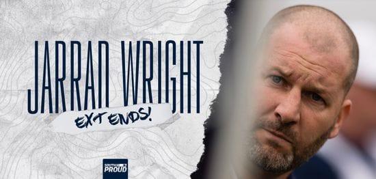 Jarrad Wright extends until 2024