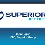 Superior Jetties' Presentation Slides from the Big Ideas Breakfast presented by John Hogan