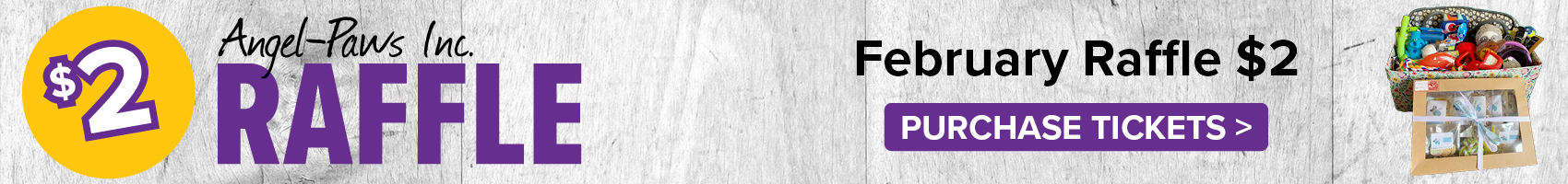 February Raffle Angel-Paws Inc