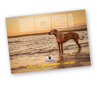 2021 Angel-Paws Inc. Calendar