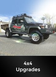 Diesel Power Unlimited have Redback extreme duty exhaust systems for 4x4