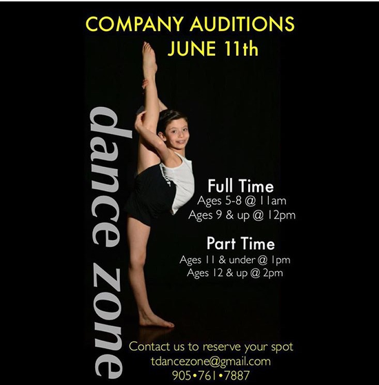 Company Auditions!