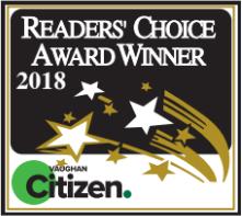 Reader's Choice Award Winner 2018