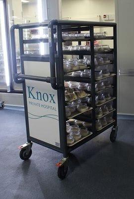Kitchen Tray service trolley, Food Service Trolley, tray service trolley, food cart