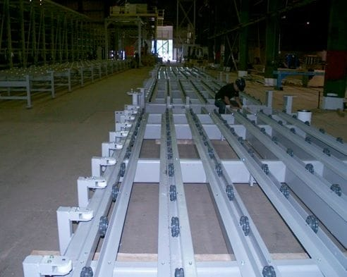Rotacaster Solutions - Prefab Concrete Transfer Table