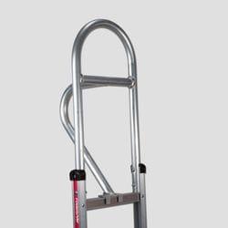 """Handle, Alum, Vertical Loop 60"""" for straight back frame, Magliner"""