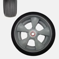 "Wheel, 250x90mm (10"") microcellular foam, Puncture resistant"