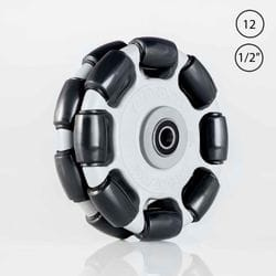Rotacaster 125mm Double Polyurethane Roller / Sealed Bearing