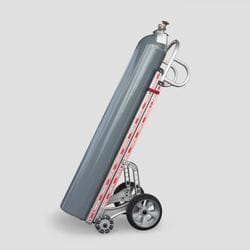 Single Gas Cylinder Hand Truck Lift Assist