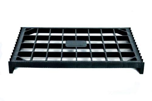 Mini Pallets Black Plastic Pallet Single Rotacaster