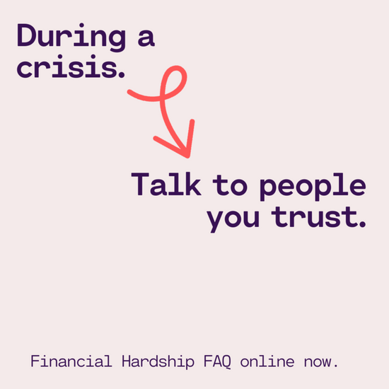 Financial Hardship FAQ