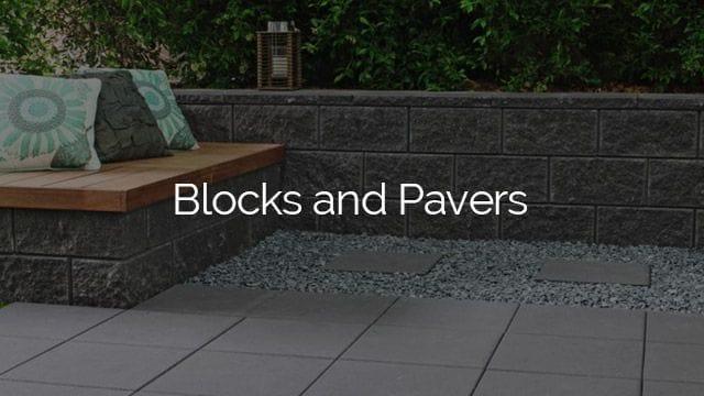 burleigh garden supplies   Blocks and Pavers