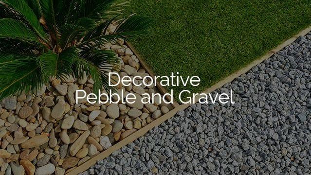 burleigh garden supplies   Decorative pebble and gravel