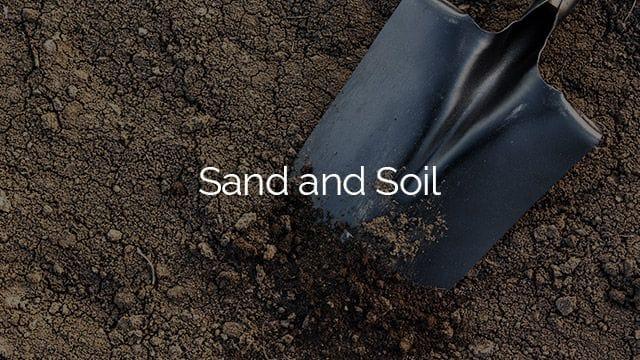 burleigh garden supplies   Sand and Soil