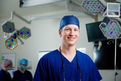 Charles Milne of Vascular Surgery