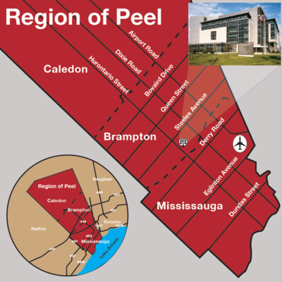Peel Law Courthouse Map