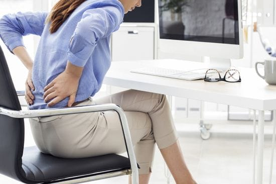 Tips for Easing Lower Back Pain from Sitting