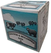 Calcium Molasses Salt Lick Block 18kg