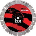 "OX Professional PB10 14"" Turbo Diamond Blade - Abrasive"