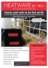 Heatwave Ad-Lib Milk Feeder for Calves and Lambs