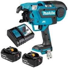 Makita 18V 5.0Ah Li-ion Cordless Brushless Rebar Tying Tool Combo Kit