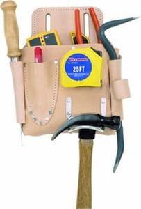 Kuny DW1017 7 Pocket Drywall Tool Pouch - Hard Side
