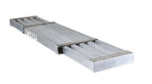 STURDY 10'-16' ALUMINUM EXTENTION PLANK