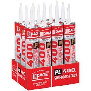 PL400 HD Subfloor Adhesive 300 ml Tube 12/case