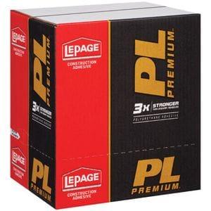 PL PREMIUM ADHESIVE 825 ML TUBE 12/CASE