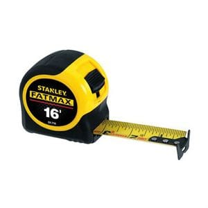 "STANLEY FAT MAX 1-1/4"" X 16' TAPE MEASURE"