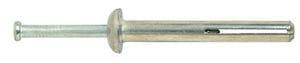 """1"""" Zamac Pin Bolt W/Plated Nail 100U/box"""