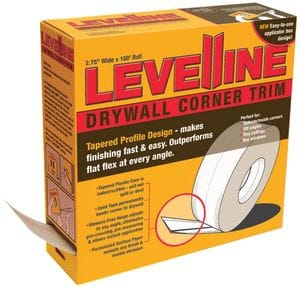 """Levelline Drywall Corner 2 3/4"""" x 100' Roll"""