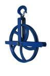 """12"""" Pulley With Safety Grab Hook 1000 Lb Cap."""