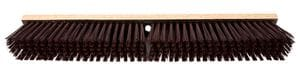 "24"" Stiff Push Broom W/60"" Handle"