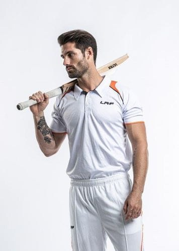 Cricket Playing Polo - Short Sleeve