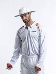 Cricket Playing Polo - Long Sleeve