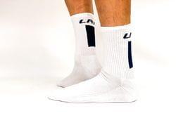 LRF Calf Sock Vertical Print (white)