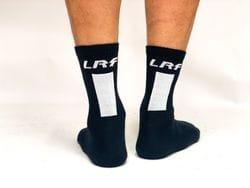 LRF Calf Sock Vertical print (black)