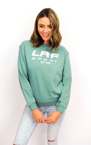 LRF Womens Crew Sweater Green