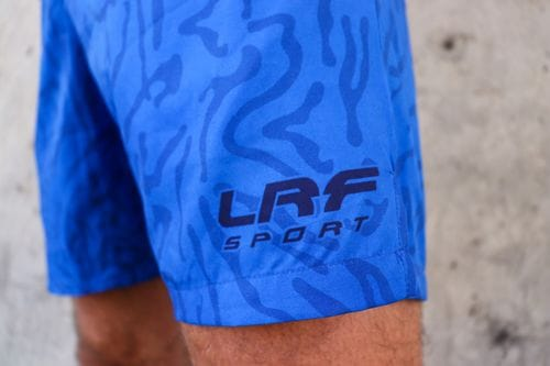 LRF Athletic Short - Royal Swirl
