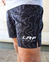 LRF Athletic Short - Black Swirl