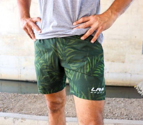 LRF Athletic Short - Khaki Palm