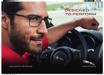 Jaguar eyewear at Optical Masters - designed to perform