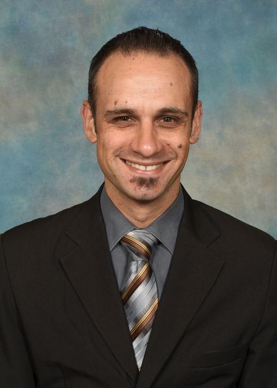 Corey Tavella, Acting Principal Welcome