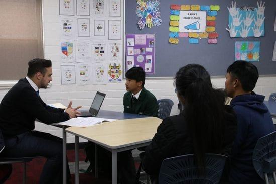 Junior Educational Transition interviews