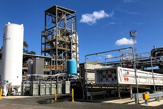 Hydrogen Pilot Plant Now Producing Pure Hydrogen