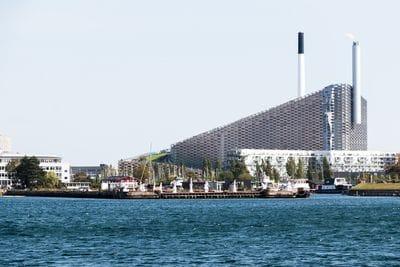 Amager Bakke waste to energy plant Copenhagen